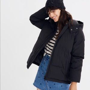 Madewell puffer coat- XS